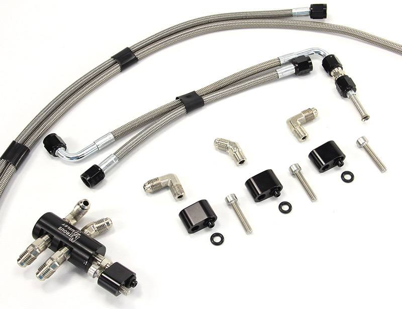 Lsx Water Vapor Bleed Crossover Kit For Ls1  Ls6  Ls2  Fast