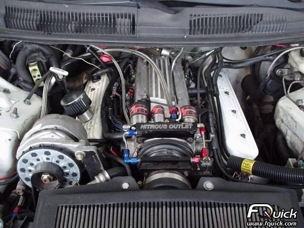 GM 93-97 LT1 Throttle Body Solenoid Bracket