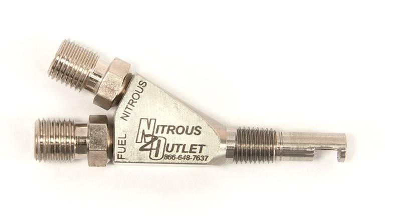 Nitrous Outlet 1//8 NPT Wet Nitrous Nozzle
