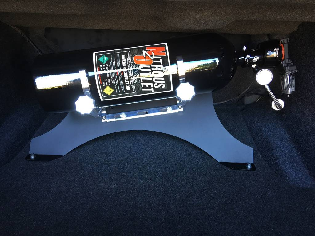 2015  Challenger  Charger Single Bottle Mounting Plate