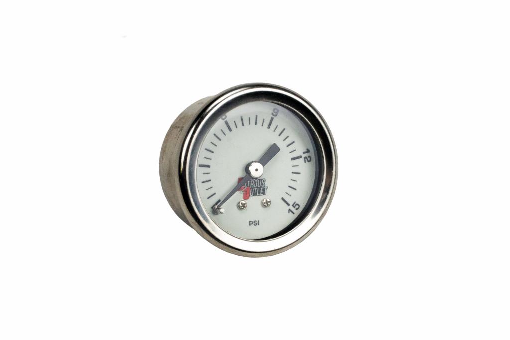 Nitrous Outlet Luminescent Nitrous Pressure Gauge /& 4AN Manifold