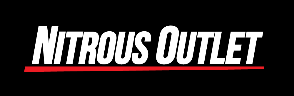 Nitrous Outlet Cowl Underline Logo Sticker Free Shipping
