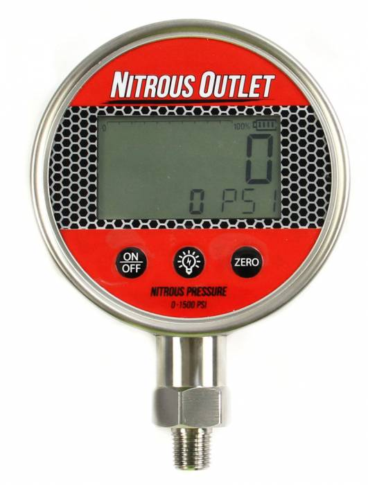 Digital Nitrous Pressure Gauge