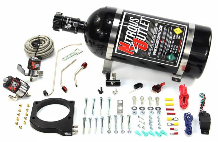MSD Atomic AirForce LS1 Intake Hard-Lined Plate System
