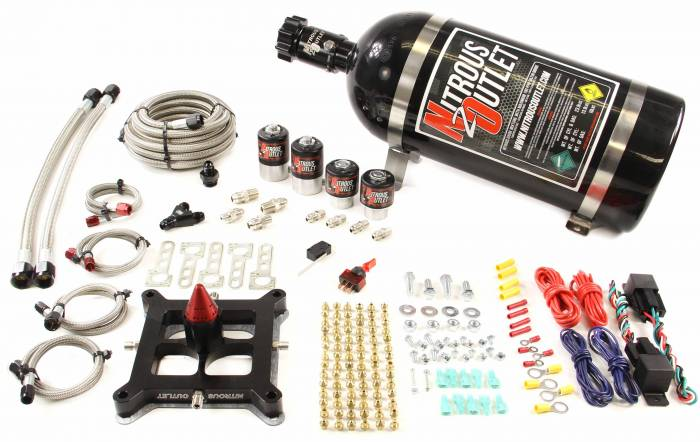 4150 GENIII Dual Stage Hornet Plate System(100-800HP)
