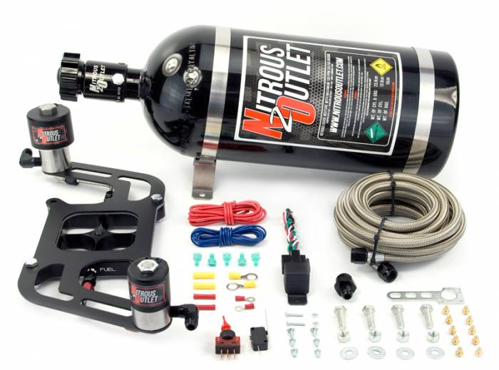 4150 RACE Stinger Plate System with Offset Solenoid Bracket(50-600HP)