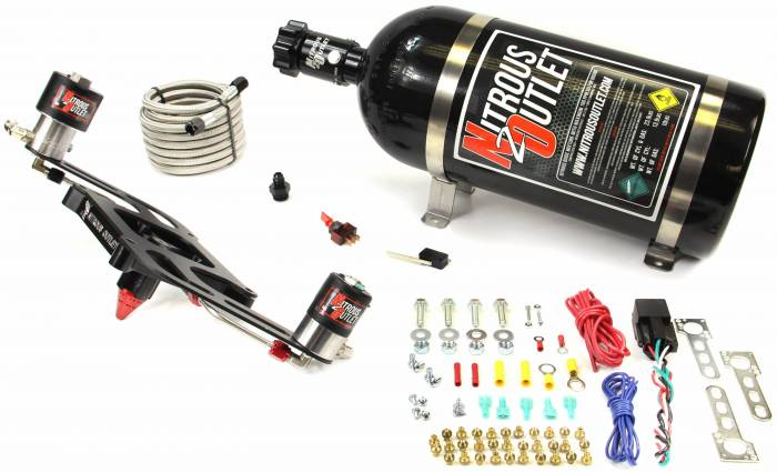 4150 GENIII Race Stinger Plate System with Offset Solenoid Bracket(50-600HP)