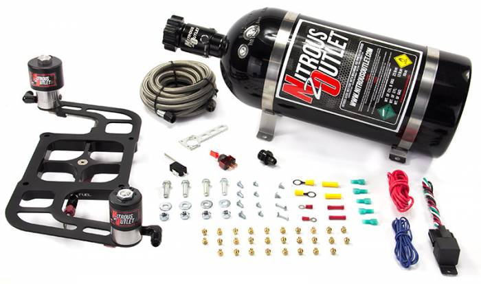 4500 Race Stinger Plate System with Offset Solenoid Bracket(50-600HP)