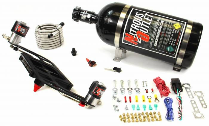 4500 GENIII Race Stinger Plate System with Offset Solenoid Bracket(50-600HP)