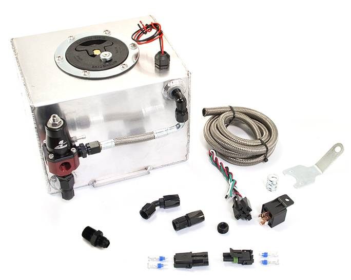 Ford Mustang GT 87-04 Dedicated Fuel System (Battery Tray)