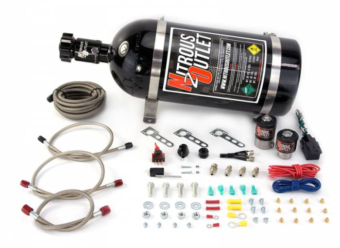 GM 2010-2020 V6 5th & 6th Gen Camaro EFI Single Nozzle System