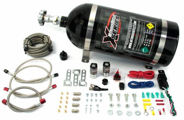 X-Series 2010-2015 V6 Camaro Single Nozzle System