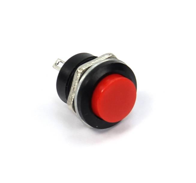 Red Mini Push Button