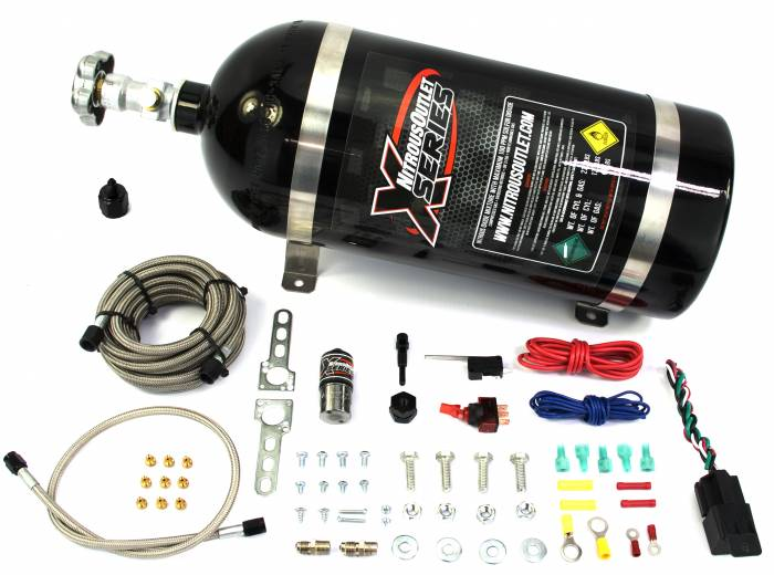 X-Series Single Nozzle Dry Nitrous System