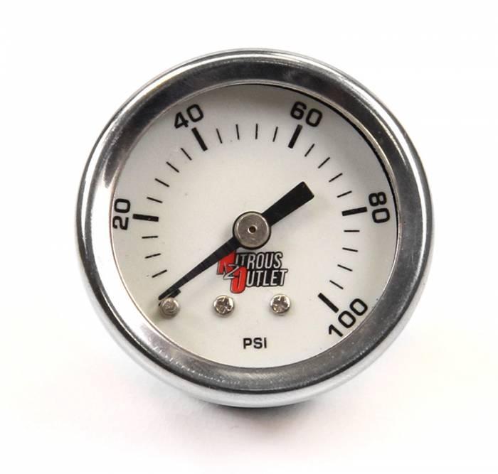 0-100psi Fuel Pressure Gauge