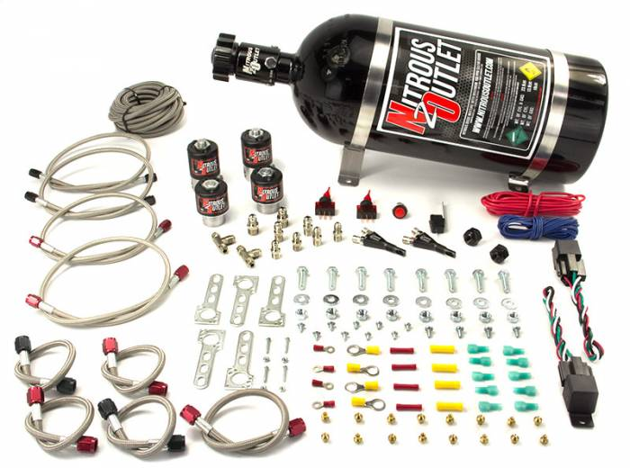 Mopar EFI Dual Stage Single Nozzle