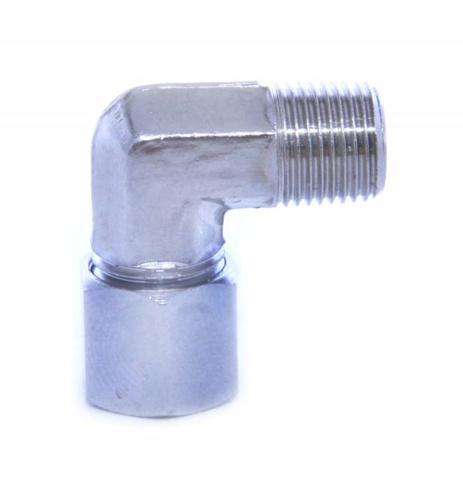 1/8 X 3/16 90 Degree Compression Fitting
