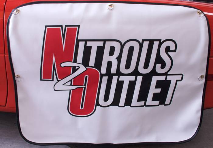 Nitrous Outlet Tire Shade