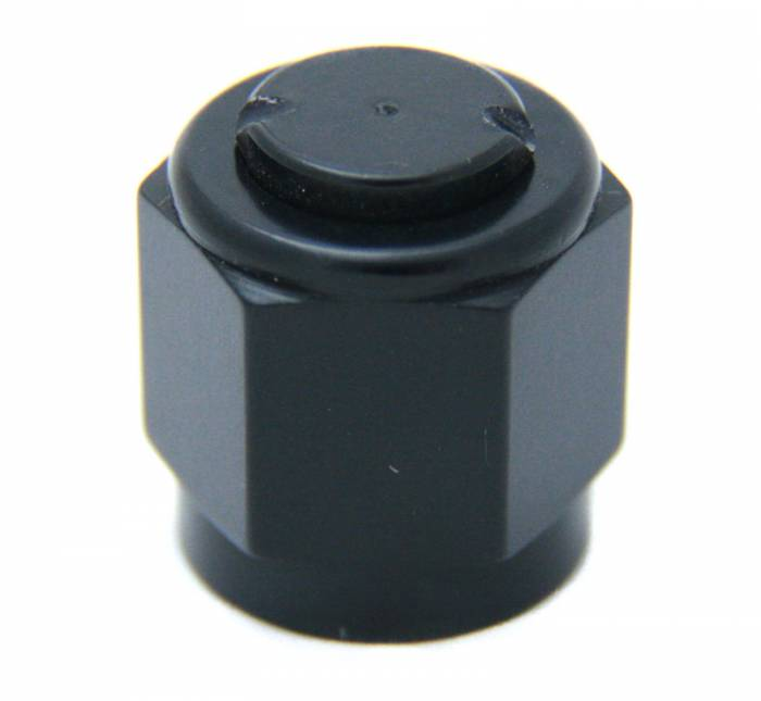 6an Aluminum Cap (Black)