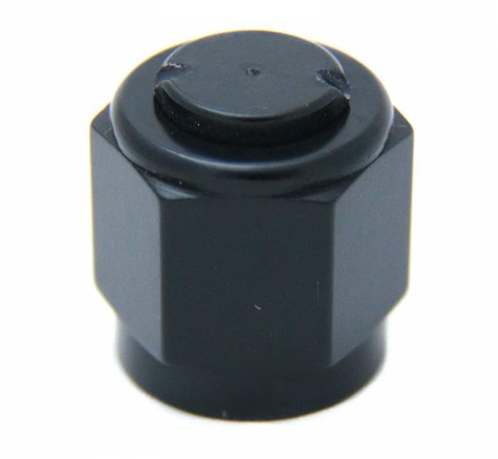 8AN Aluminum Cap (Black)