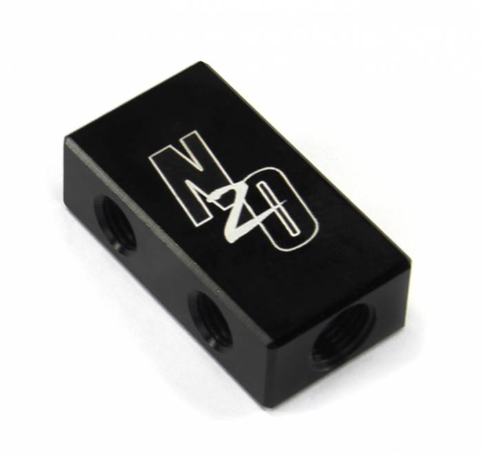 Compact Billet 2 in 4 Out Distribution Block