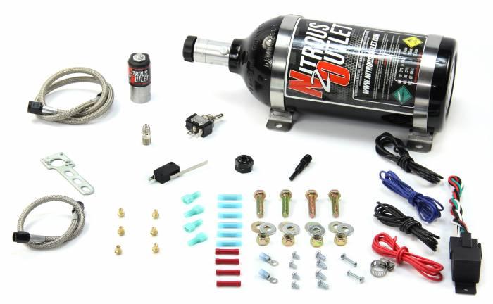 Powersports EFI Single Cylinder  Dry Nitrous System