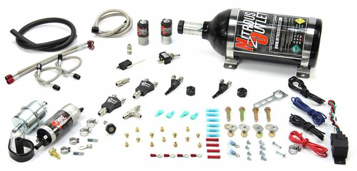 Powersports Carbureted Twin Cylinder Nozzle System
