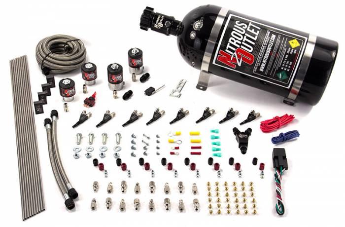 8 Cylinder Single Stage Racers Option Direct Port Nitrous System