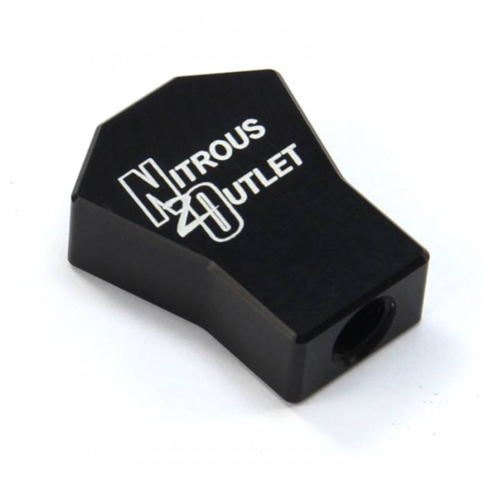 """Powersports 1 In 3 Out Distribution Block (1/8"""" NPT Inlet,5-16/24"""" Outlets)"""