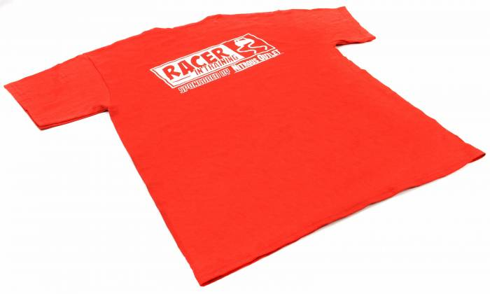 Racer In Training Youth T-Shirt (Red)