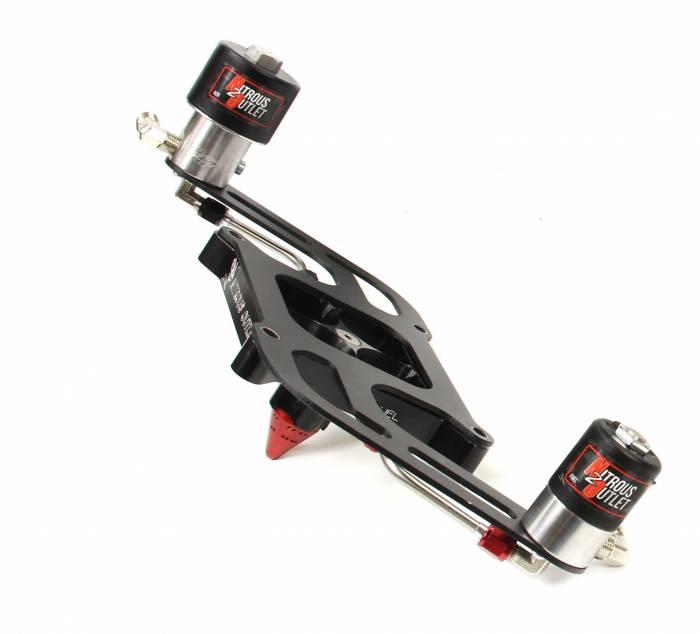 4150 GENIII RACE Stinger Plate Conversion With Boomerang 2 Solenoid Bracket (50-600hp)