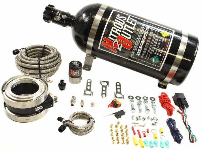 """Nitrous Outlet Interspooler 4"""" Dry Nitrous Plate System"""