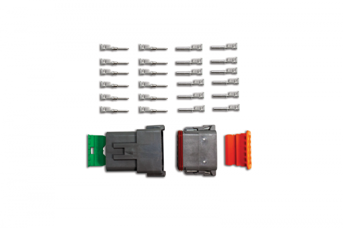 12-Pin Deutsch Connector Kit (14-16ga)
