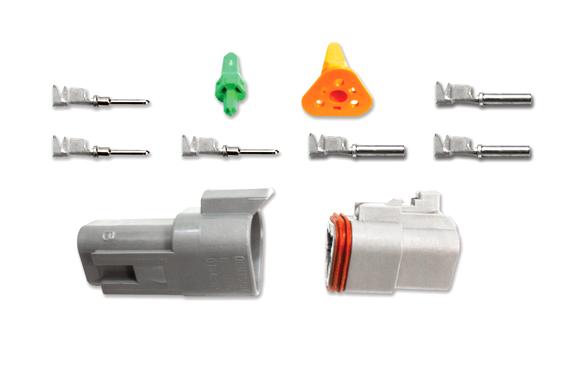 3-Pin Deutsch Connector Kit (14-16ga)