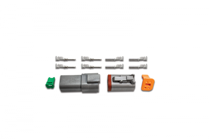 4-Pin Deutsch Connector Kit (14-16ga)