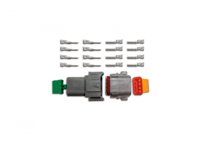 8-Pin Deutsch Connector Kit (14-16ga)