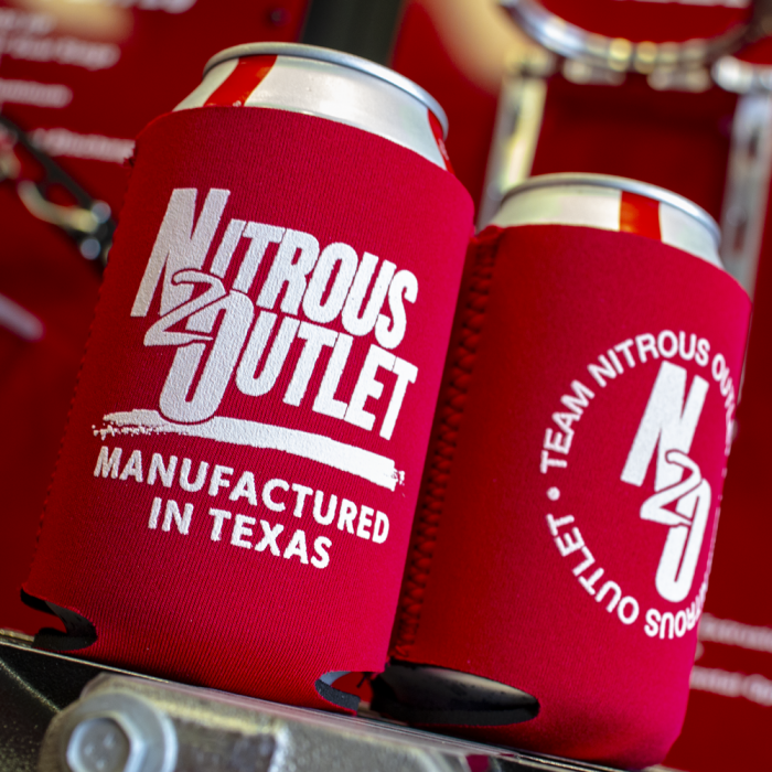 Nitrous Outlet Texas Koozie