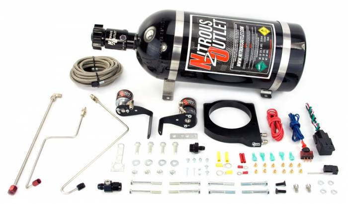102mm FAST Intake Hard-Lined Plate System with Aftermarket Fuel Rails