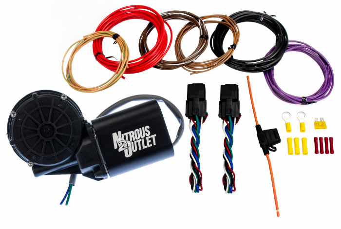 Remote Nitrous Bottle Opener with Installation Accessories