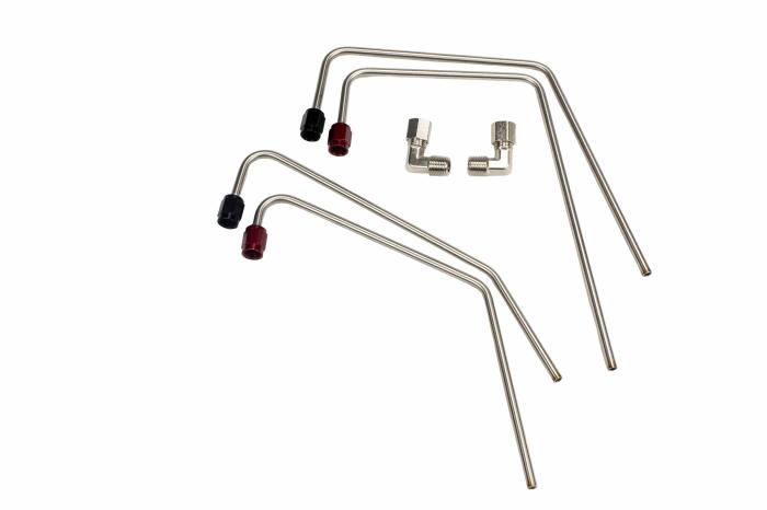 Passenger Side Hardline Kit for 102mm Holley Hi-Ram Nitrous Plate System
