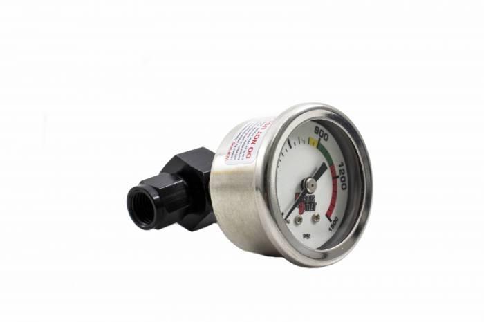 Luminescent Nitrous Pressure Gauge & 4 AN Manifold
