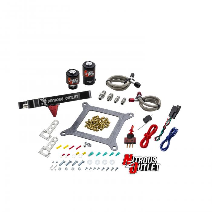 Stinger 2 Standard Wet 4150 Solenoids ForwardNitrousPlate Conversion