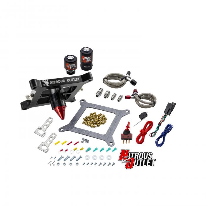 Stinger 3 Standard Wet 4150 Solenoids ForwardNitrousPlate Conversion