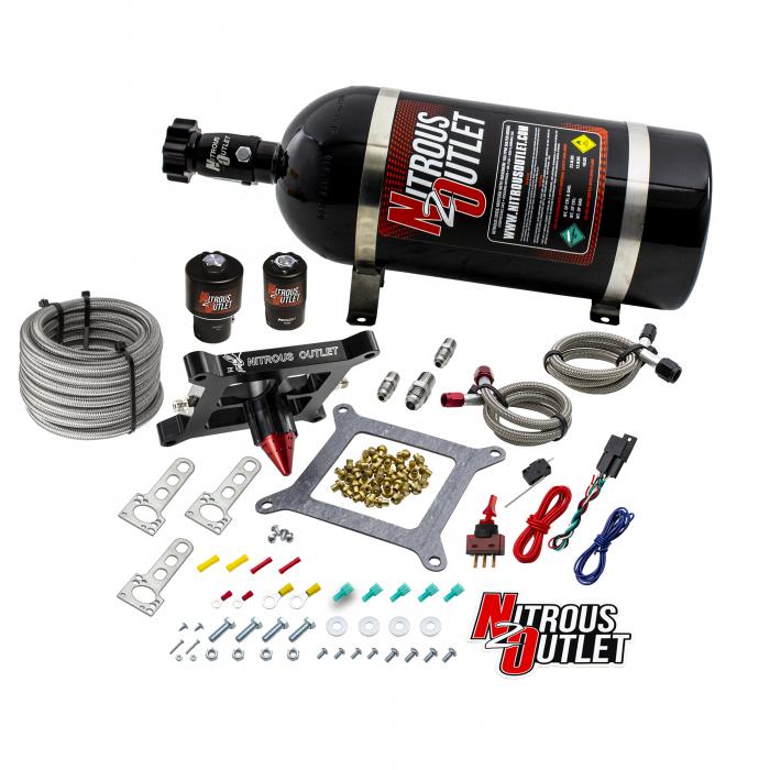 Stinger 3 Race Wet 4150 NitrousPlate System