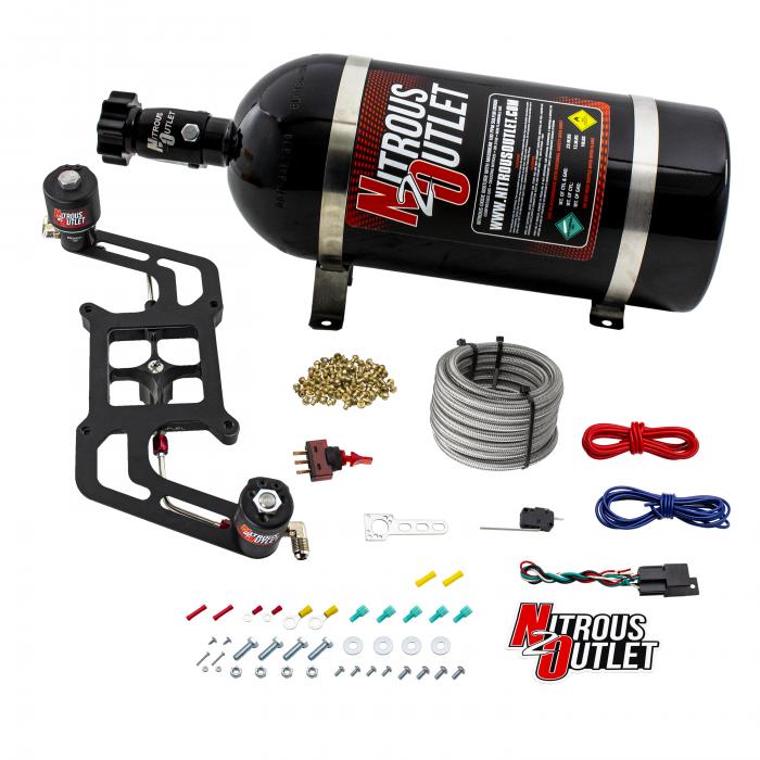 Stinger 3 Race Wet 4150 BoomerangNitrousPlate System