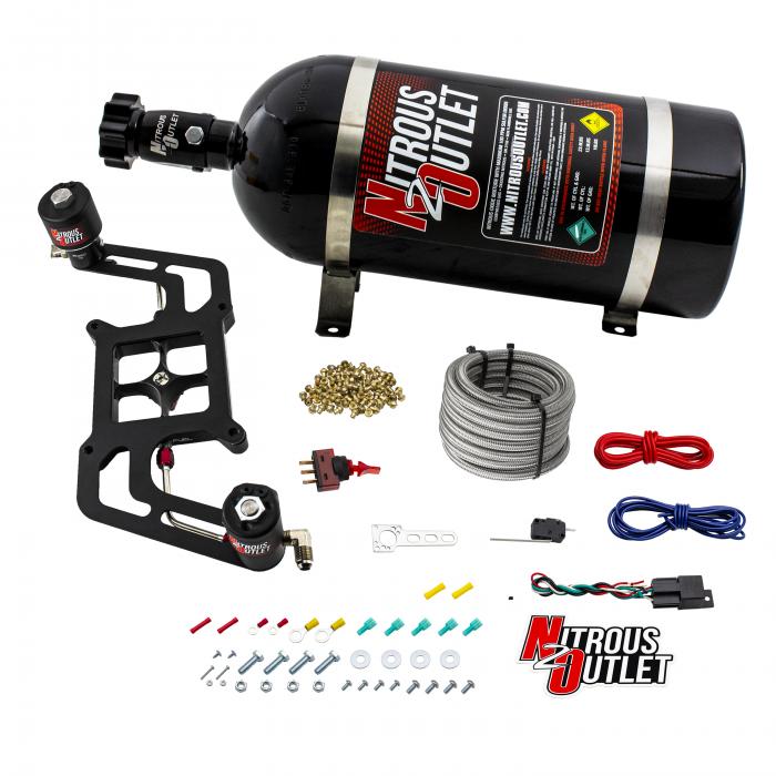 Stinger 2 Race Wet 4150 BoomerangNitrousPlate System