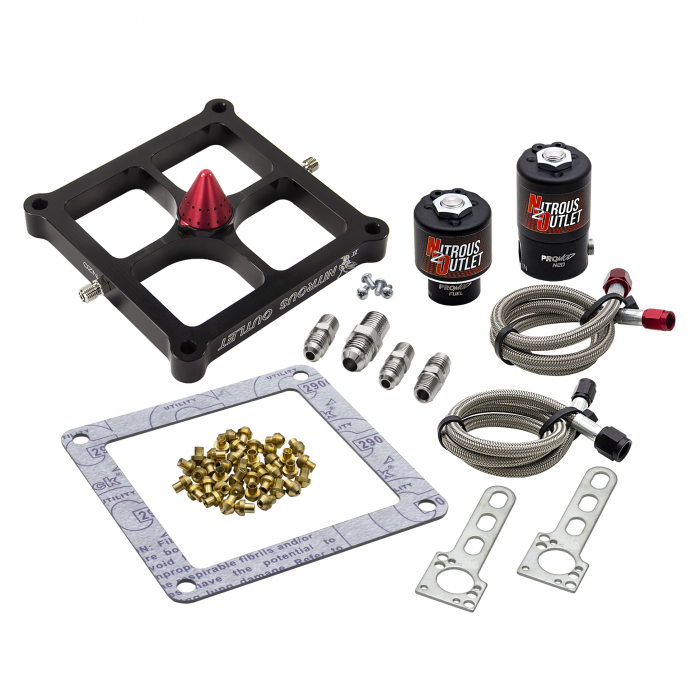 Stinger 2 Standard Wet 4500 Solenoids ForwardNitrousPlate Conversion