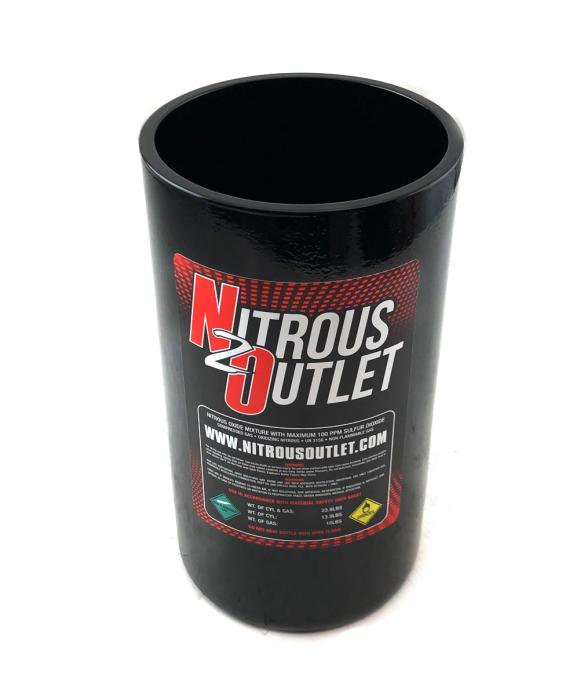 Nitrous Outlet Trashcan - 10lb Nitrous Bottle