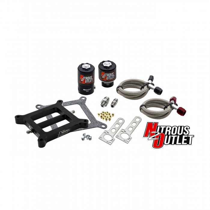 Nitrous Outlet Weekend Warrior X-Series 4150 Plate System Solenoids Forward Conversion