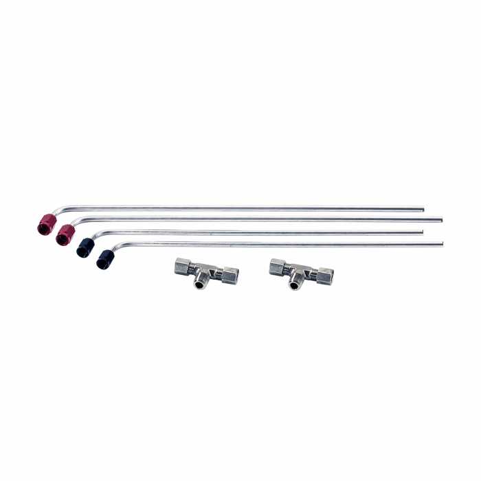 Nitrous Outlet Weekend Warrior 4150/4500 Tunnel Ram Hard-Line Kit